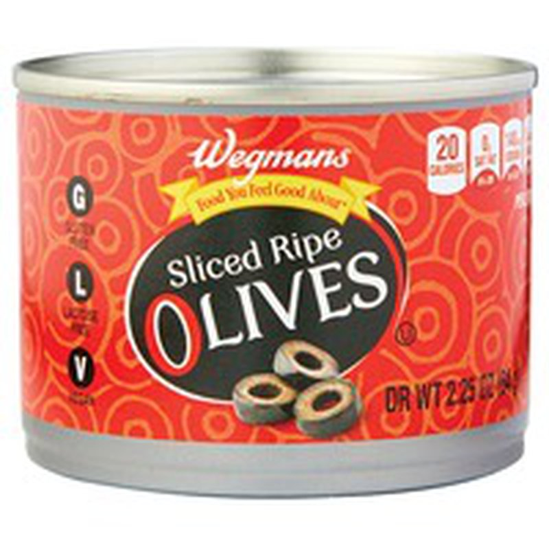 Wegmans Food You Feel Good About Sliced Ripe Olives