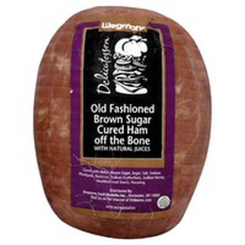 Wegmans Brown Sugar Cured Ham off the Bone