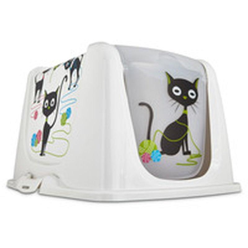 So Phresh Large Funny Cat Litter Box Privacy Hood