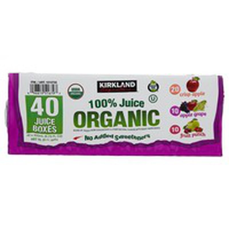 Kirkland Signature Organic Juice