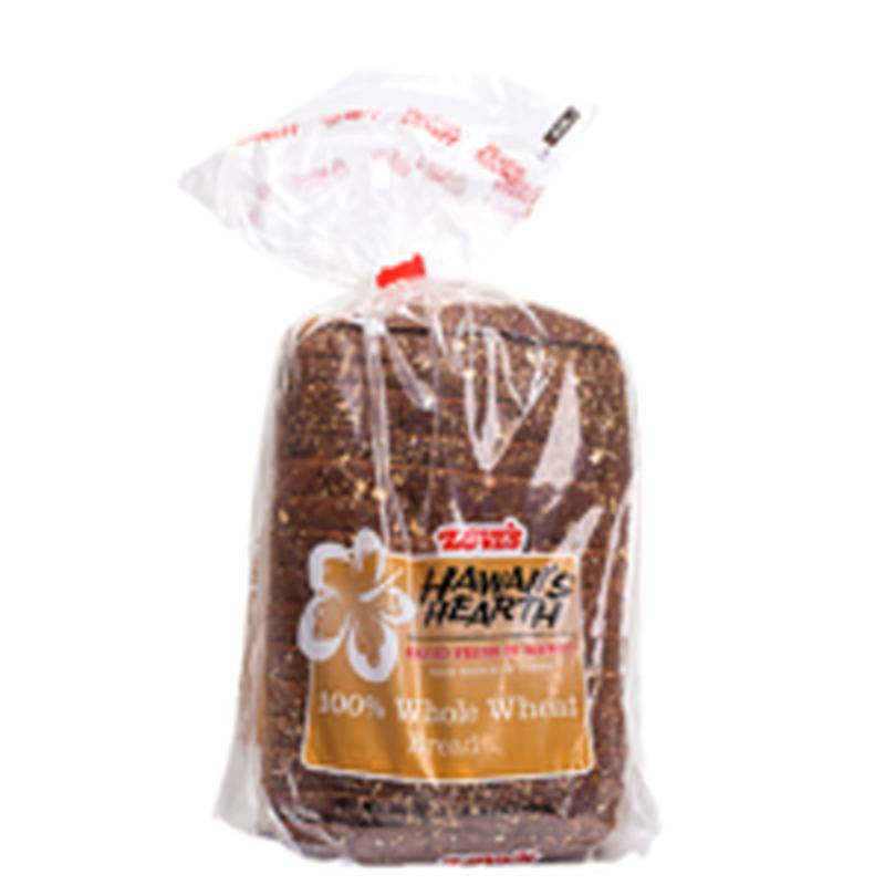Love's Hawaii's Hearth 100% Whole Wheat Bread