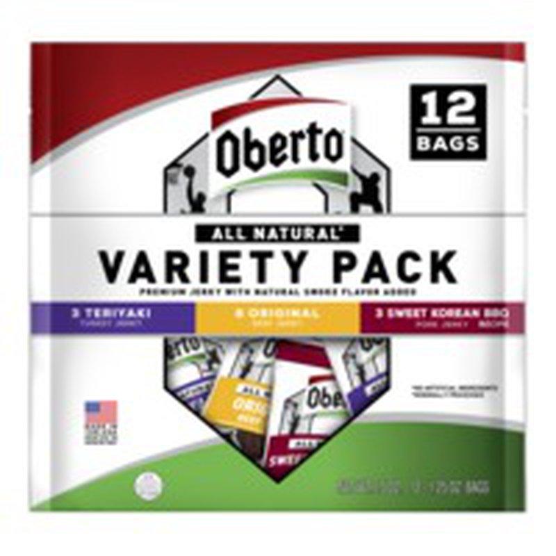 Obertos Seahawk Themed Jerky Variety Pack