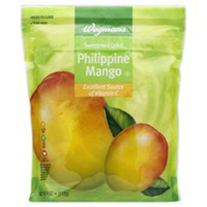 Wegmans Sweetened Dried Philippine Mango
