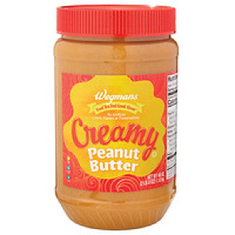 Wegmans Creamy Peanut Butter