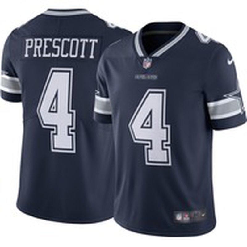 Nike Men's Limited Jersey Dallas Cowboys Dak Prescott #4 - L (L ...