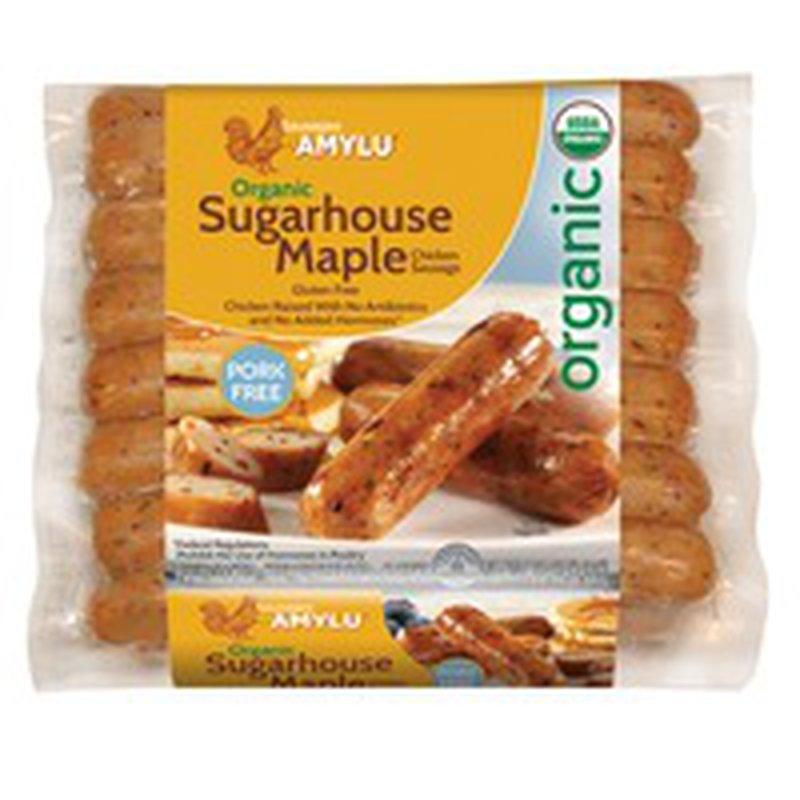 Amy Lu Organic Sugarhouse Maple Chicken Sausage