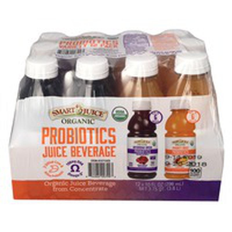 Smart Juice Probiotics Juice Variety Pack