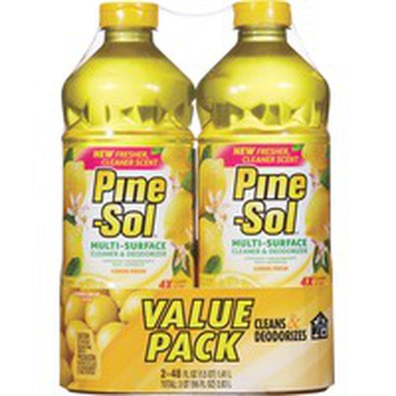 Pine Sol All-Purpose Cleaner, Lemon Scent